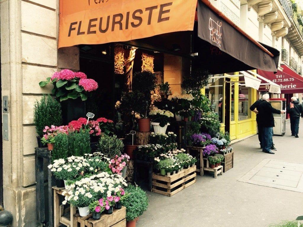 Cute and creative Fleuriste, Les Marais Paris.