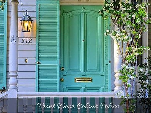 SUPER FRONT DOOR COLOURS