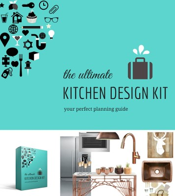 KITCHEN DESIGN KIT Kitchen renovation guide to help you through the process of designing your kitchen.