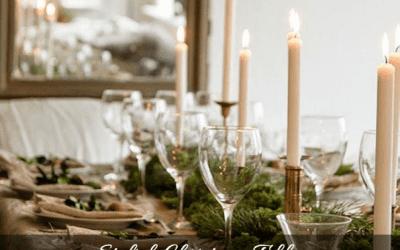 CREATE A STYLISH CHRISTMAS TABLE