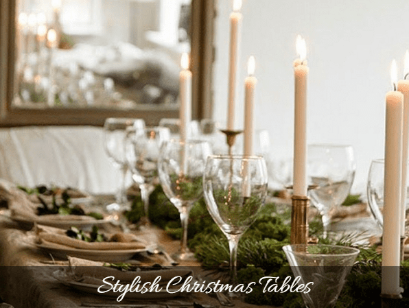 CREATE A STYLISH CHRISTMAS TABLE