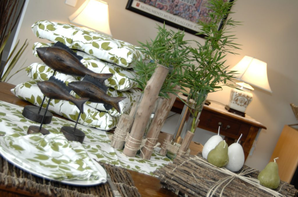 Home styling for photo shoot
