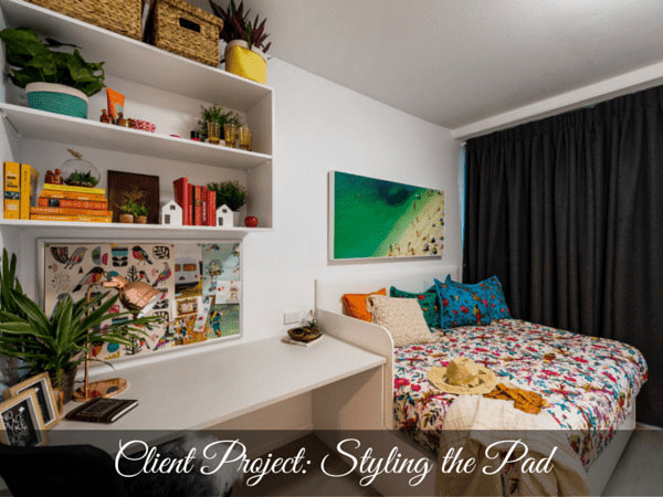 CLIENT PROJECT: STYLING THE PAD