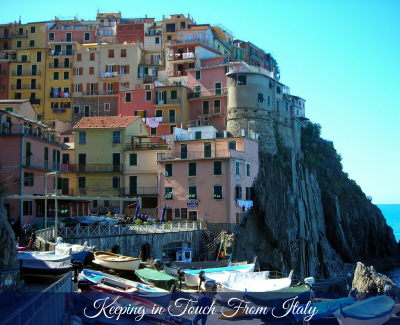 Keeping in Touch from Italy – www.carmendarwin.com