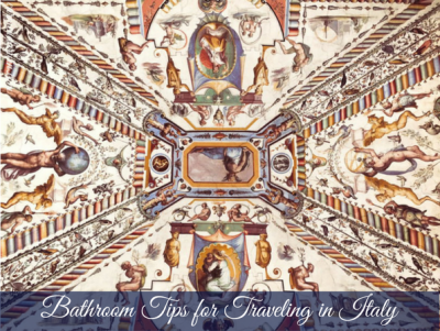 Bathroom tips for traveling to Italy