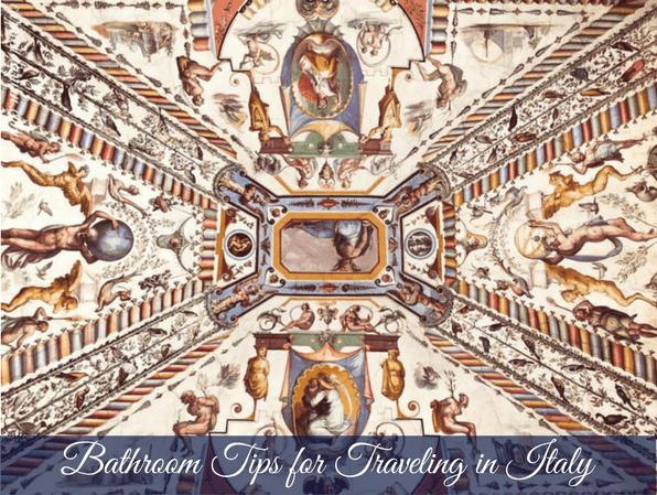 Bathroom Tips in Italy