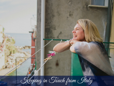 Keeping in touch from Italy