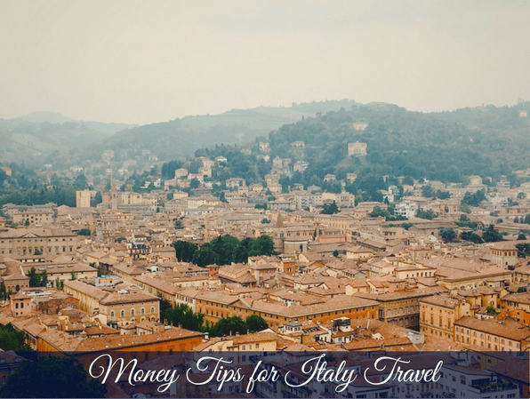 MONEY TIPS FOR ITALY