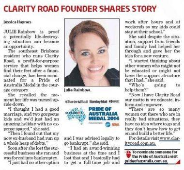 Pride of Australia story