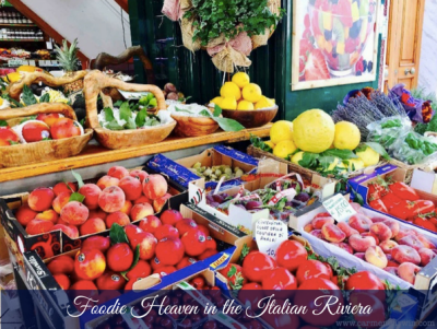 Foodie Heaven in the Italian Riviera – Carmen Darwin