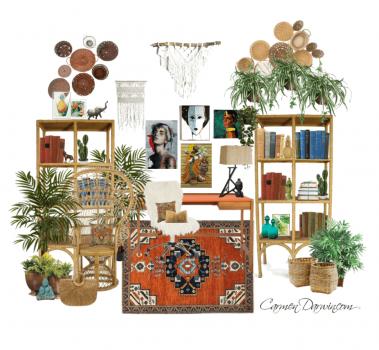 -Bohemian Office Carmen Darwin