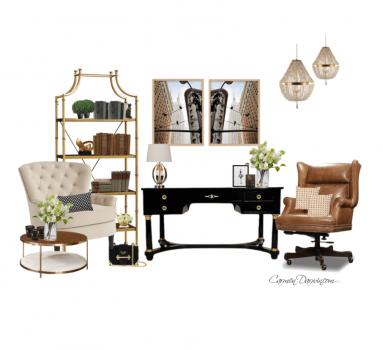 Classic Home Office Design Carmen Darwin