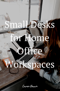 Small Desks for Home Office Workspaces