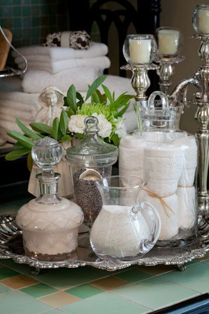 glass and silver styling Classic Style