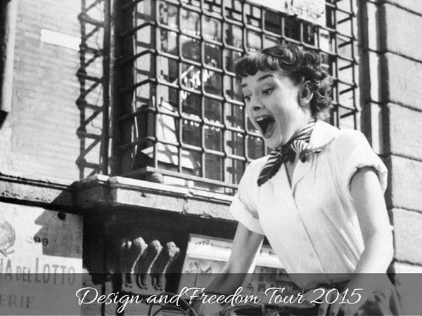 My Design & Freedom Tour of 2015