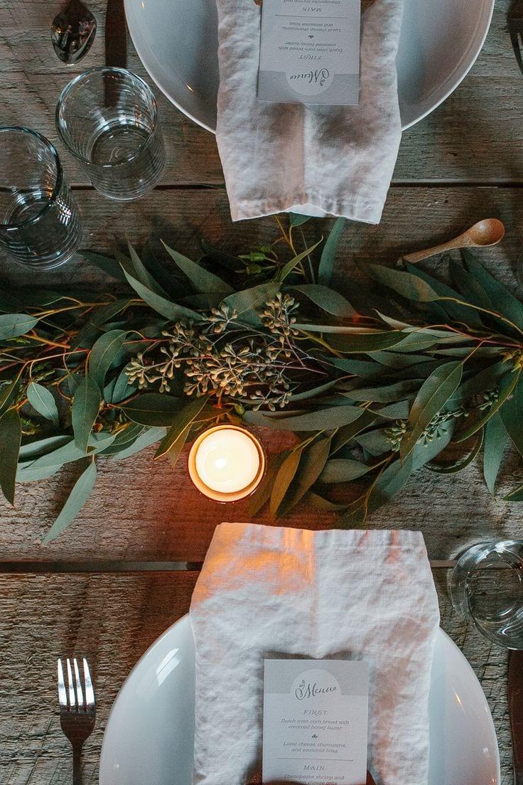 xmas table hundredthreadblogspot stylish table setting