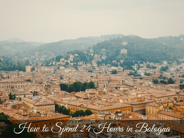Bologna Exploration Day 1- What to do