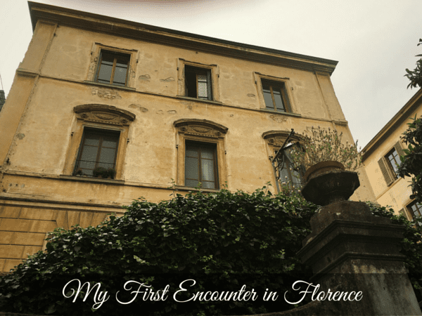 First Encounter in Florence