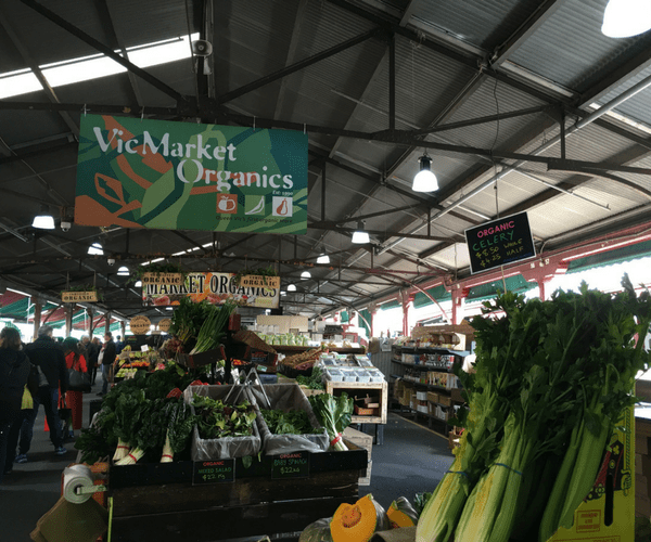Vics Market Organic Melbourne